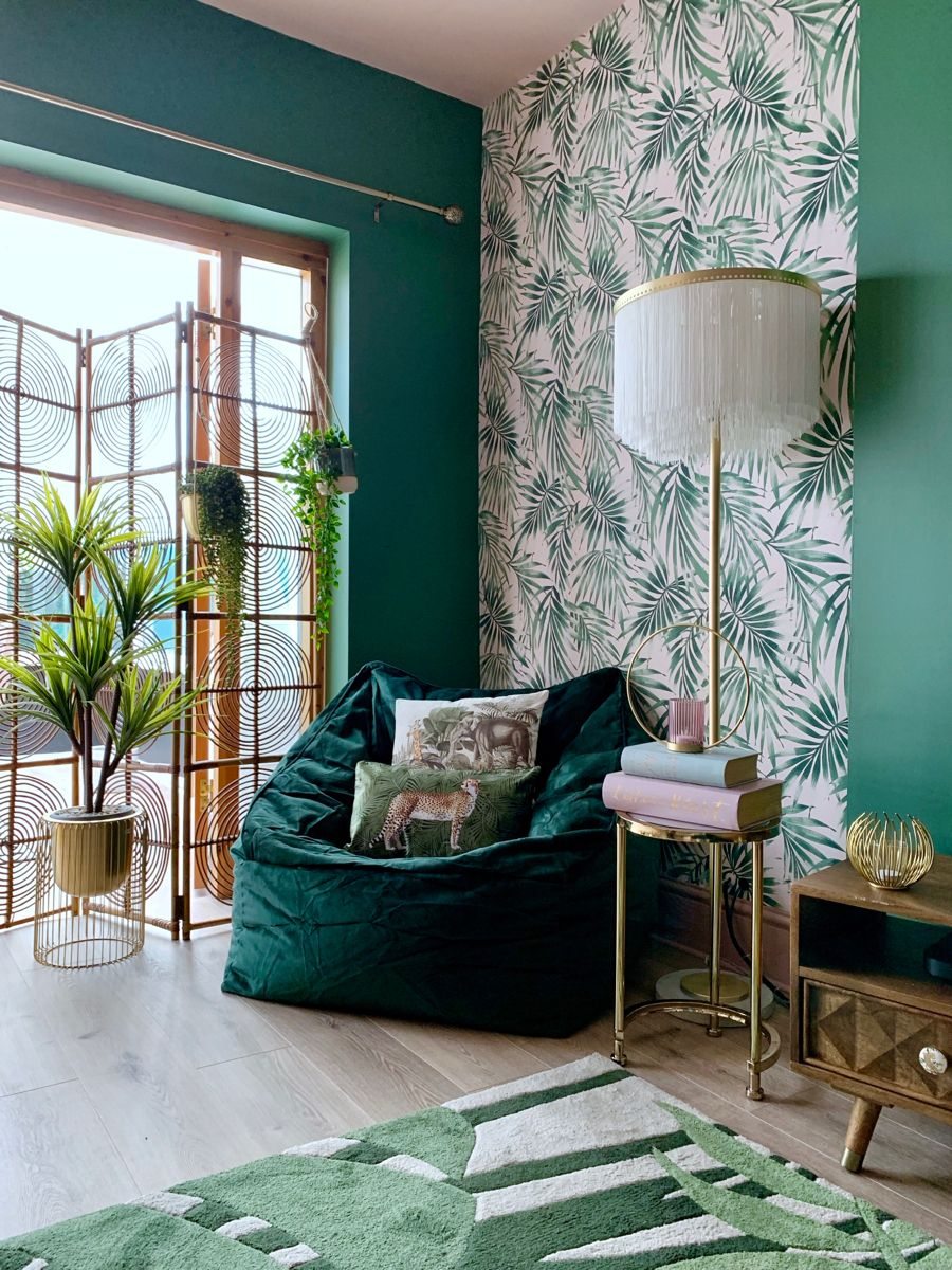 Statement wallpaper can add such personality to a room