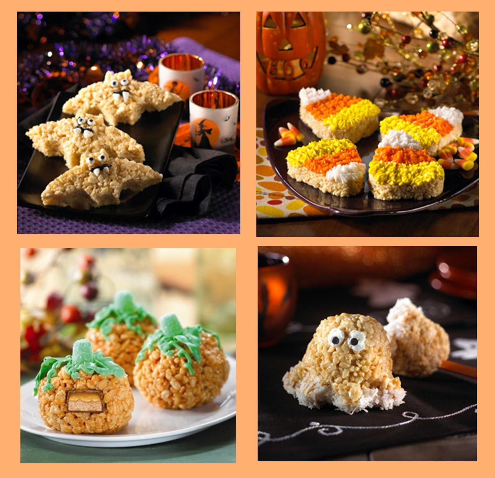 halloween rice crispy treats 19 halloween rice krispies treats yummy get the recipes