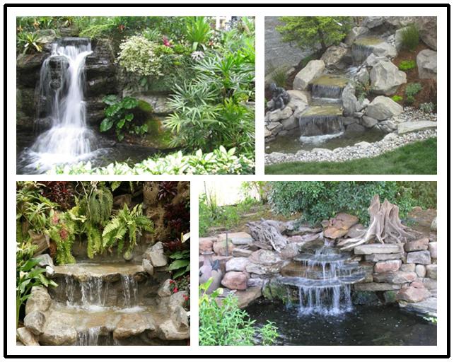 How To Build A Garden Waterfall Pond | Garden waterfall ...