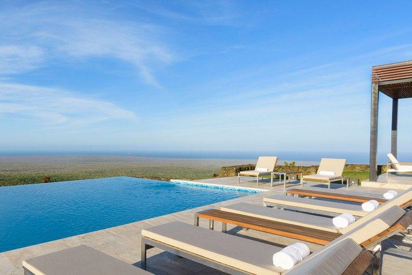 Swimming Pool At Pikaia Lodge Santa Cruz Island Galápagos