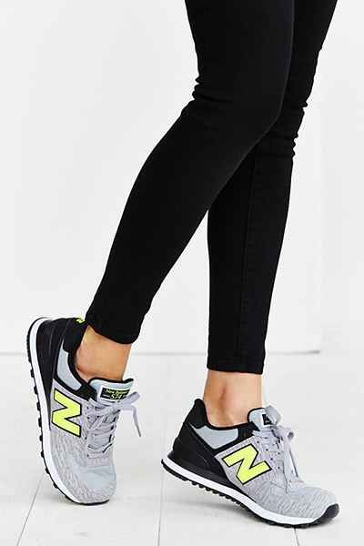 new balance classic 574 grey womens trainers
