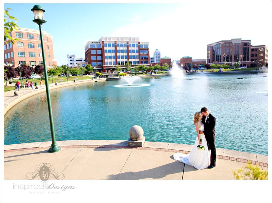 The Fountain in City Center at Oyster Point photo by