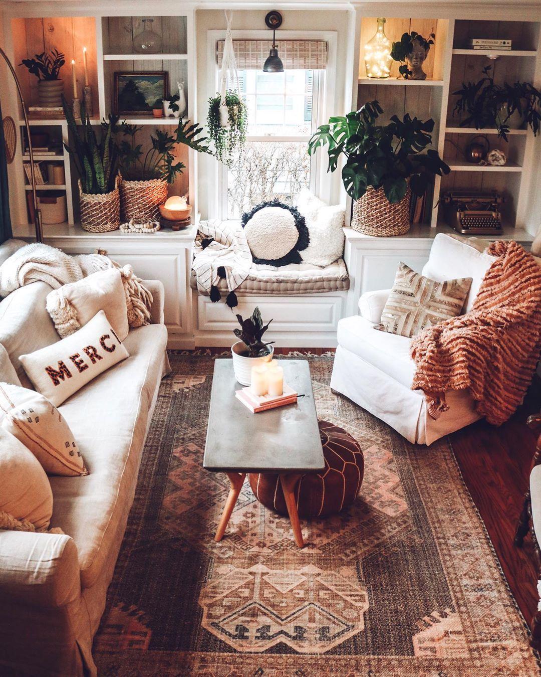 Brooke Christen On Instagram January Living Room Look I Actually Wasn T Feeling Inspired To Take Down Chri Living Room Warm Home Decor Hygge Living Room