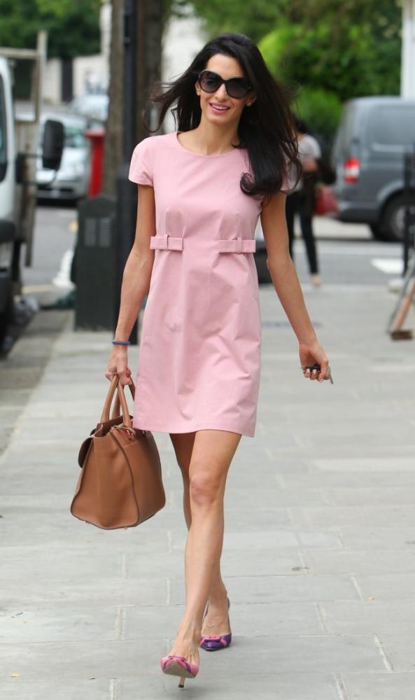 Es ella, Amal Alamuddin y su estilo antes de la boda con Clooney ...
