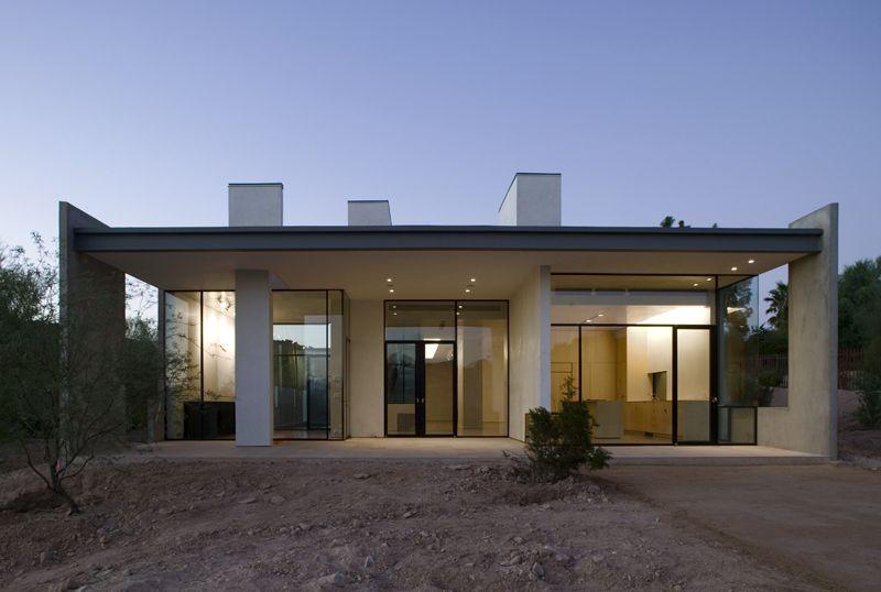 House architecture arizona an front view design also rh pinterest