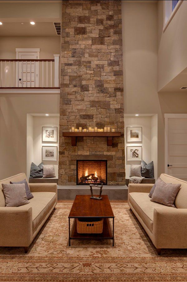 40 Absolutely amazing living room design ideas Chimenea estufa de - diseo de chimeneas para casas