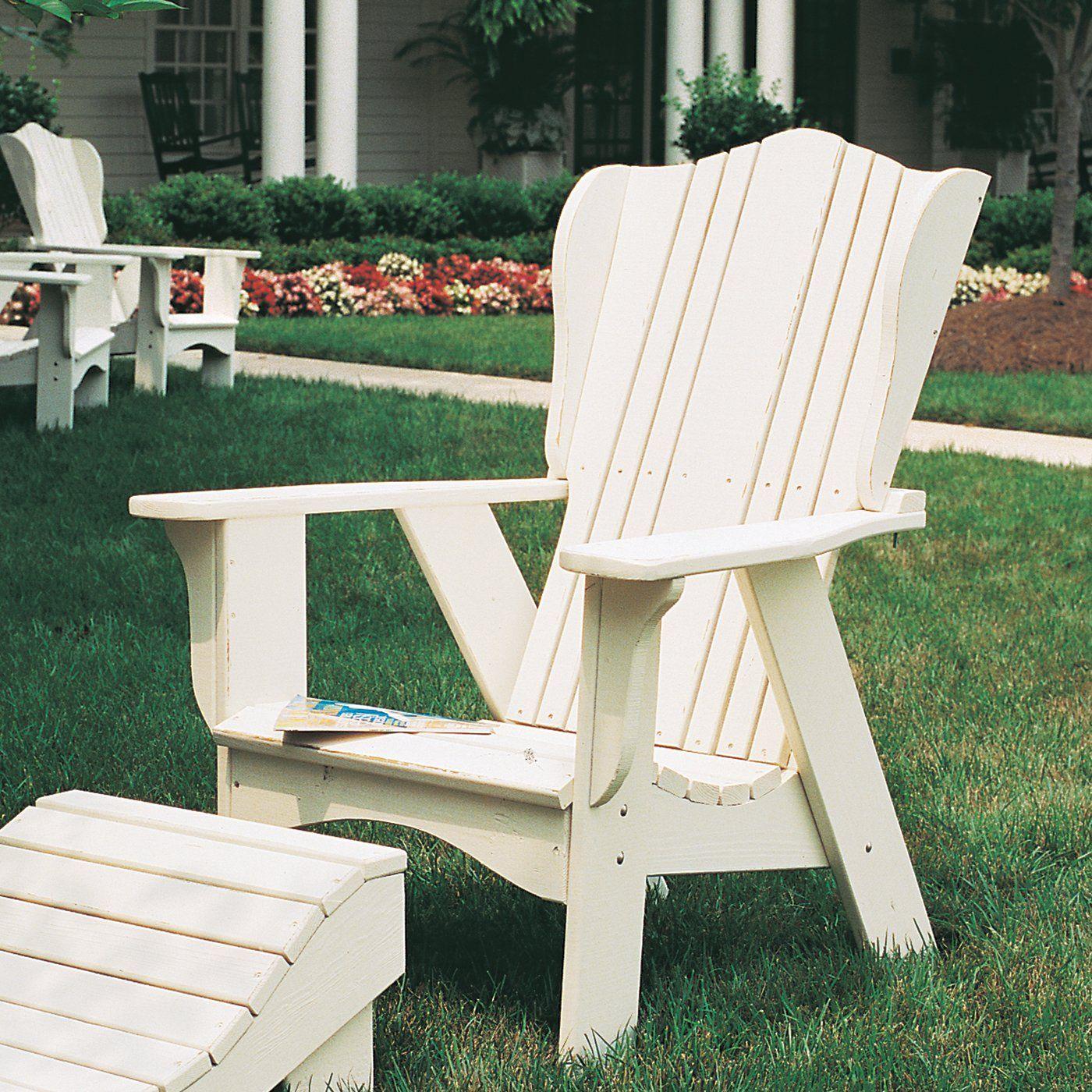 Uwharrie Chair 3011 0 Plantation Adirondack Chair   Outdoor Living Showroom