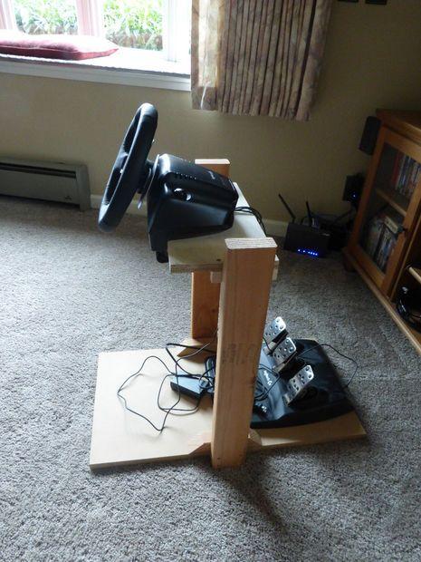 Racing Wheel Stand Stuffs To Build Racing Wheel Video