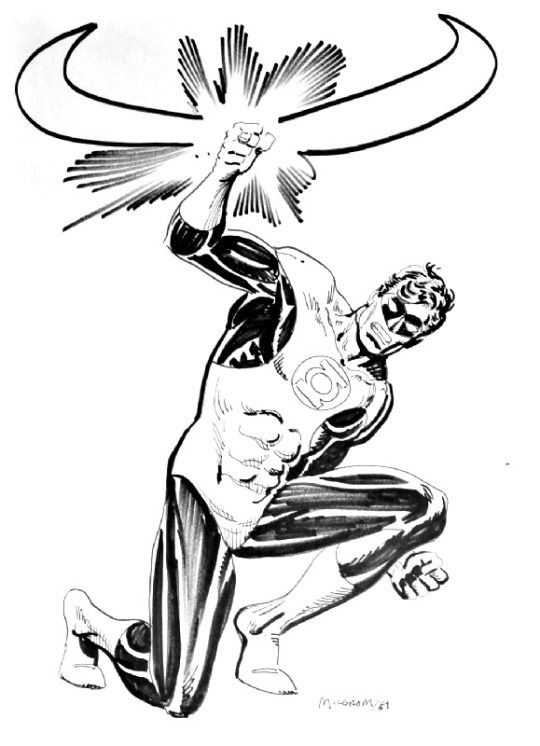 Green Lantern by Al Milgrom