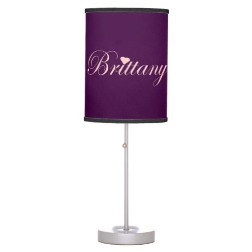 Brittany - Hanging pendant lamp using pink and purple