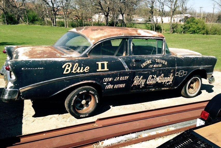 1964 Chevelle Malibu SS Mooneyes gasser - vintage drag car - barn ...