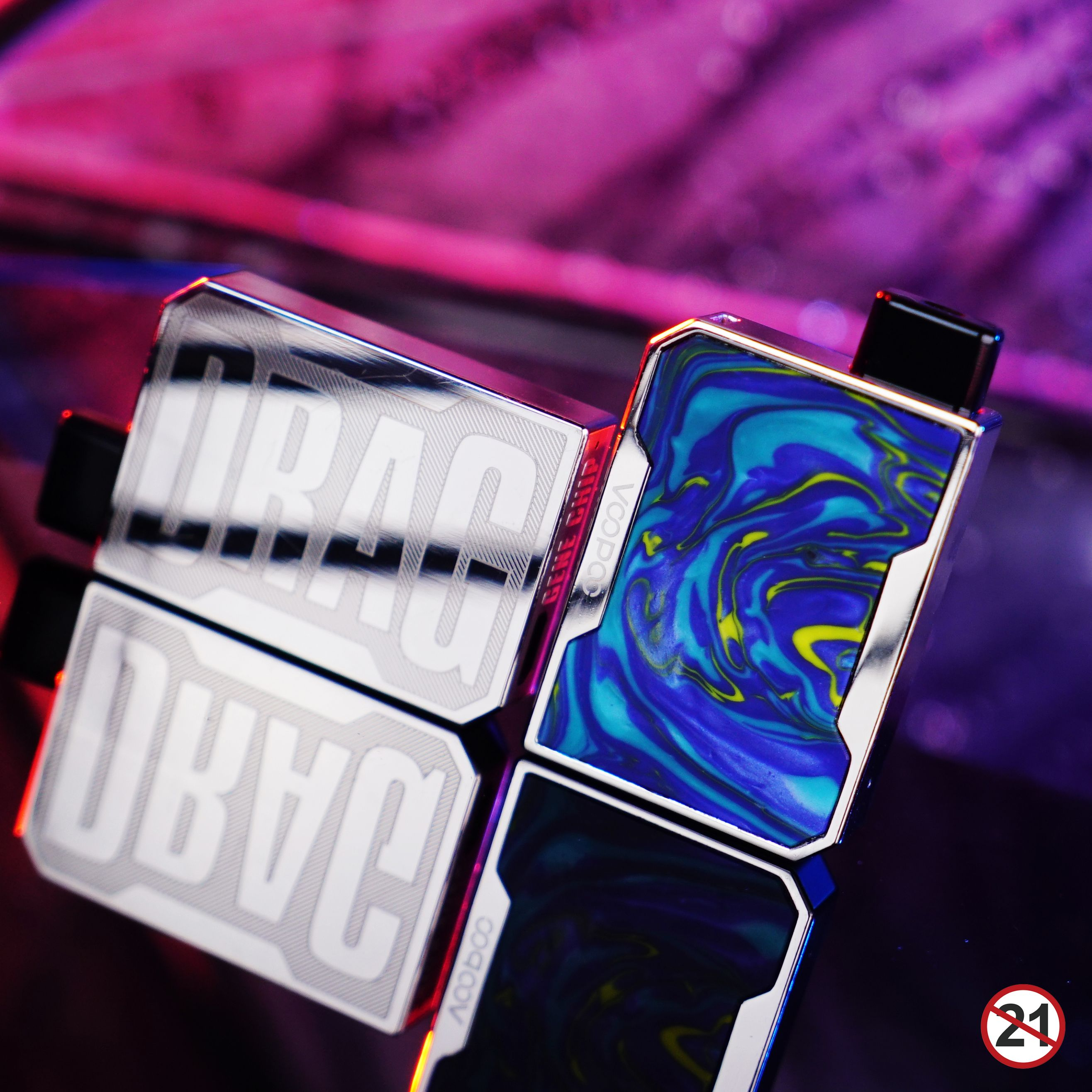 As a new member of Drag series, Voopoo Drag Nano Pod Kit is