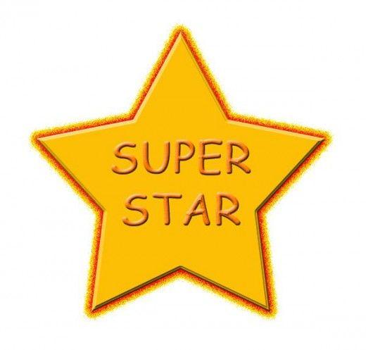 Superstar Clip Art