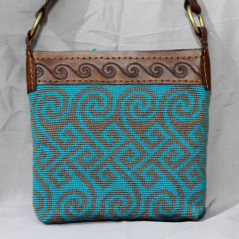 Wayuu Mochila bag | örgü çantalar | Pinterest | Tasche häkeln ...