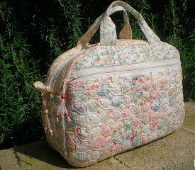 Bolso patchwork japon s - Manualidades patchwork bolsos ...