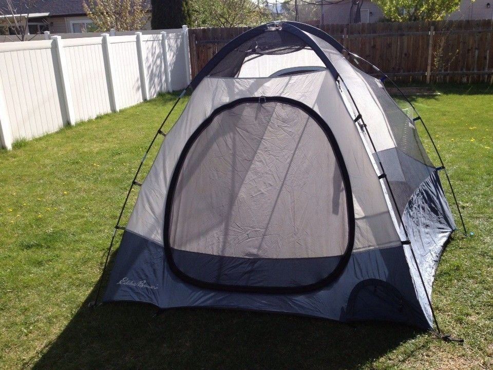 EDDIE BAUER TENT EB-30315 4 to 5 person camping tent Very ...