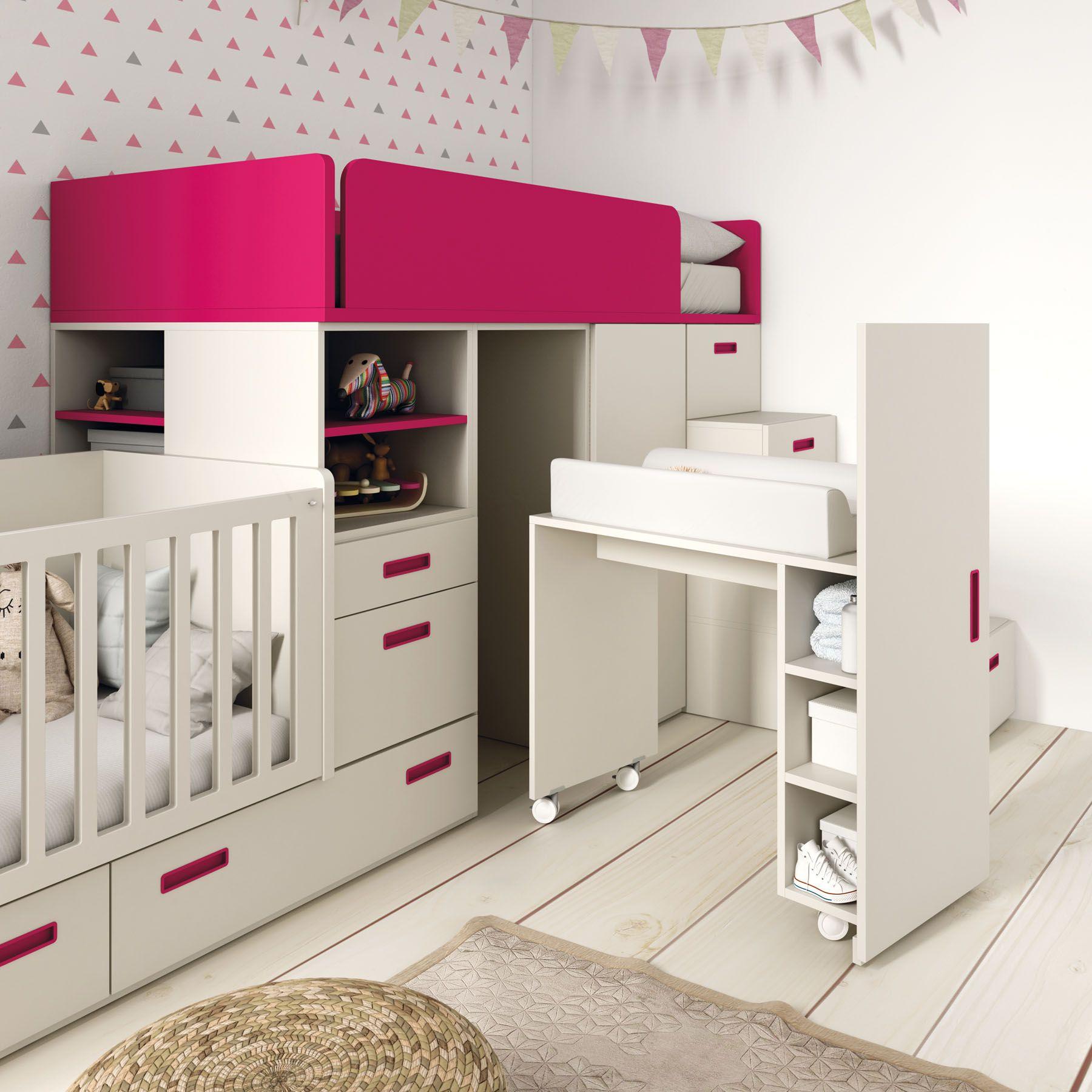 Camas Tren Y Blocs Qb By Tegarmobel Dormitorio Secundario 2 0  # Muebles Tegarmobel
