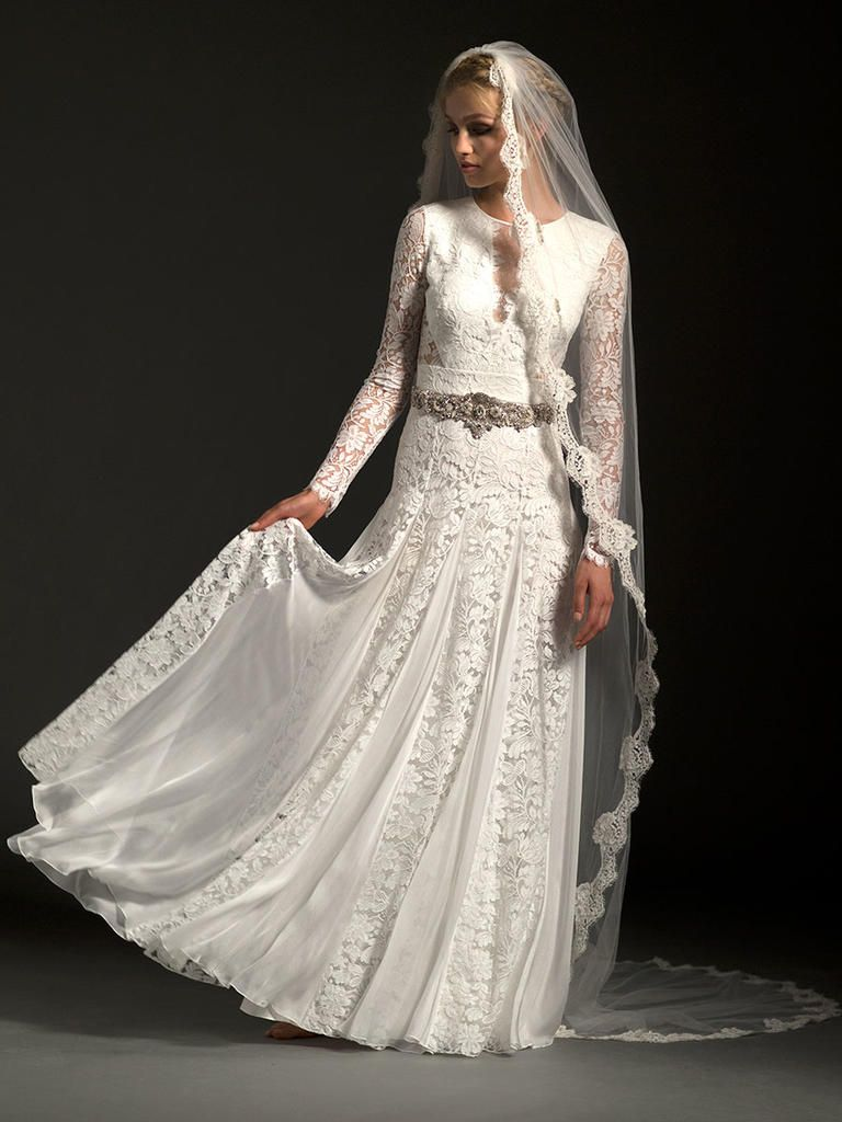 Temperley fall vintage bohemian wedding dresses temperley