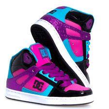 Girls DC Shoes Size 1   eBay   Dc shoes