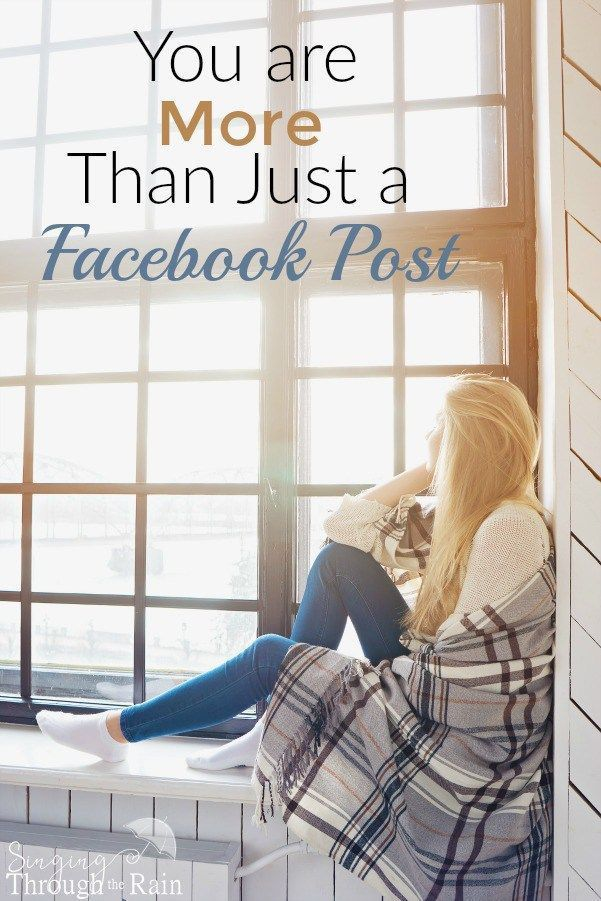 n the sea of posts that flood your newsfeed, each person can look like just another Facebook post. But behind those social media updates, there are real people. They may not put it all out on social media, but they are there. Their Facebook post is just one moment in time and each person behind that post has a story to tell. Do we care to hear more of the story?
