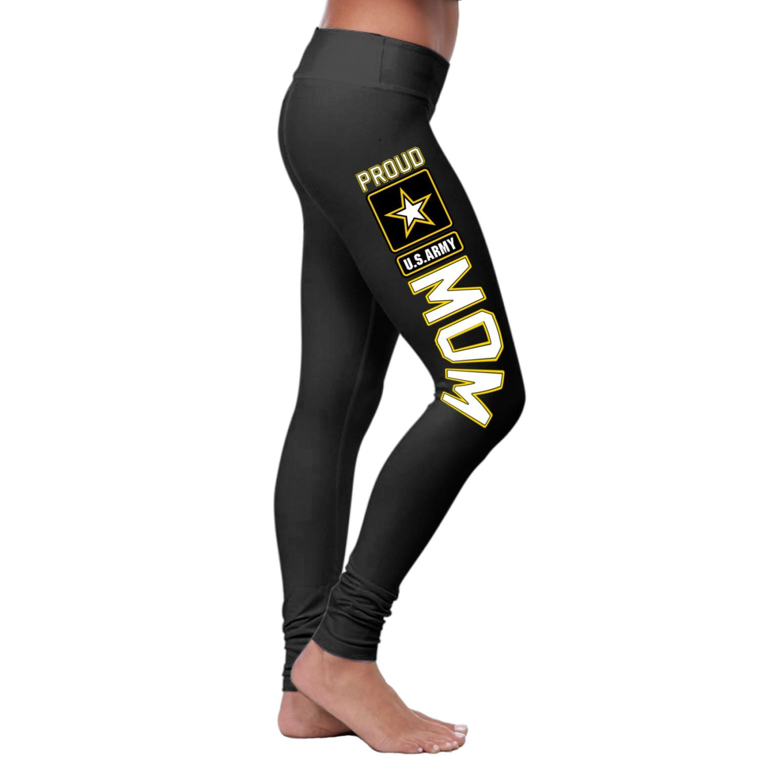 c477b6a57e601c Proud US Army Mom Leggings | Products | Leggings, Women's fashion ...
