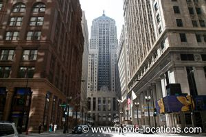 Film Locations For Christopher Nolan S The Dark Knight 2008 With Christian Bale And Heath Ledger In Chicago And London Including The Post Office Building With Images Filming Locations