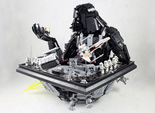 Lego Star Wars Moc Power Of The Dark Side Image 07 Star Wars