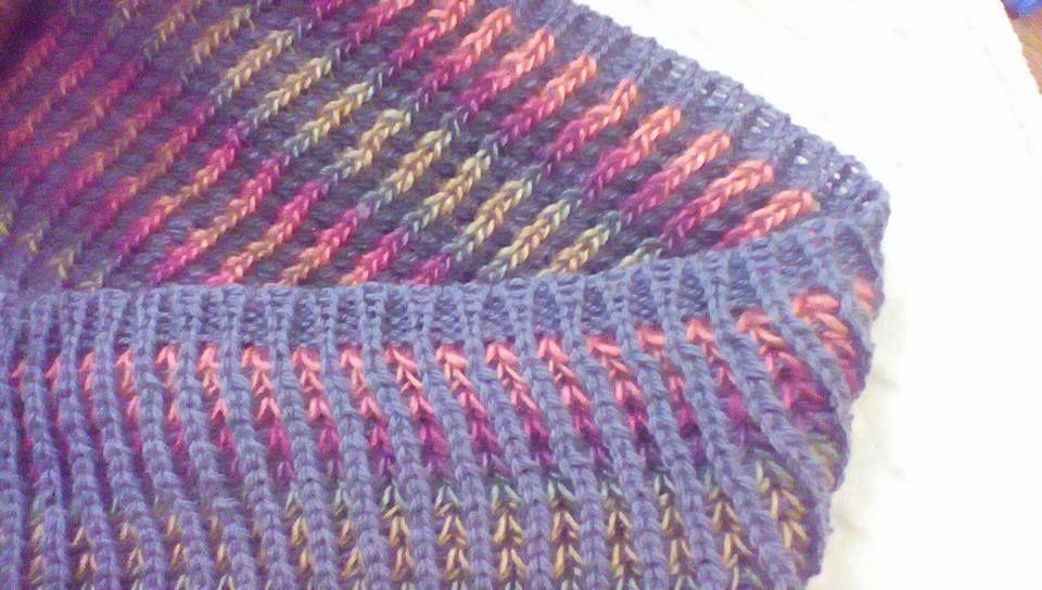 Brioche On The Knitting Machine Machknit Brioche By Dionne Strong