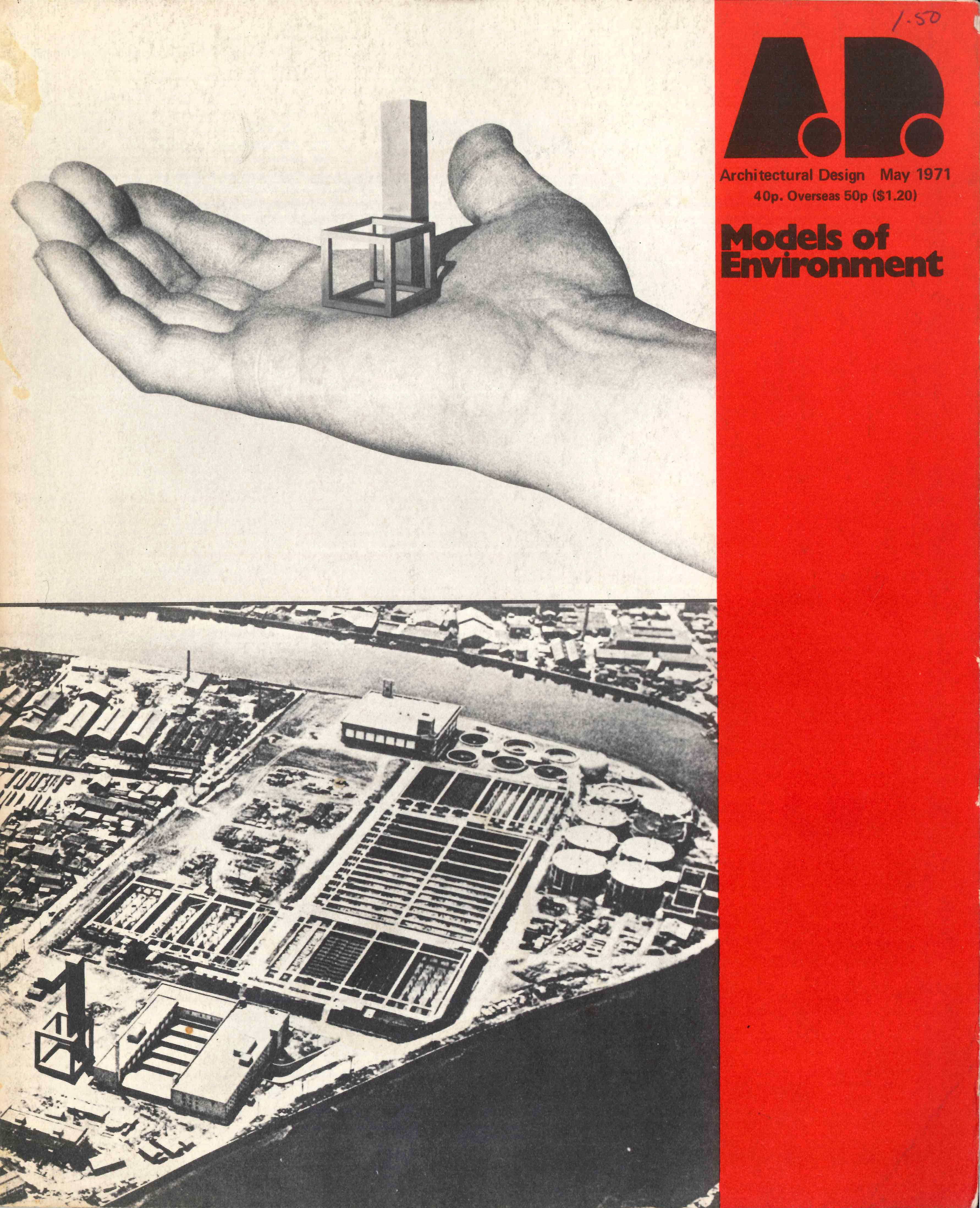 AD Architectural Design Models Of Environment May 1971