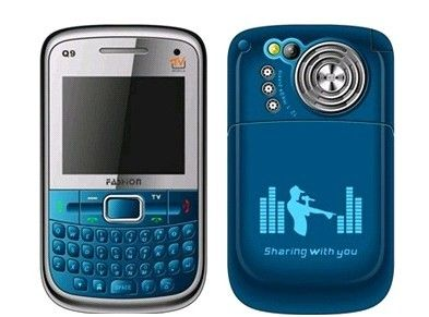 Aumente o som dos fones de ouvido do celular Q9 Fashion Modelo 1