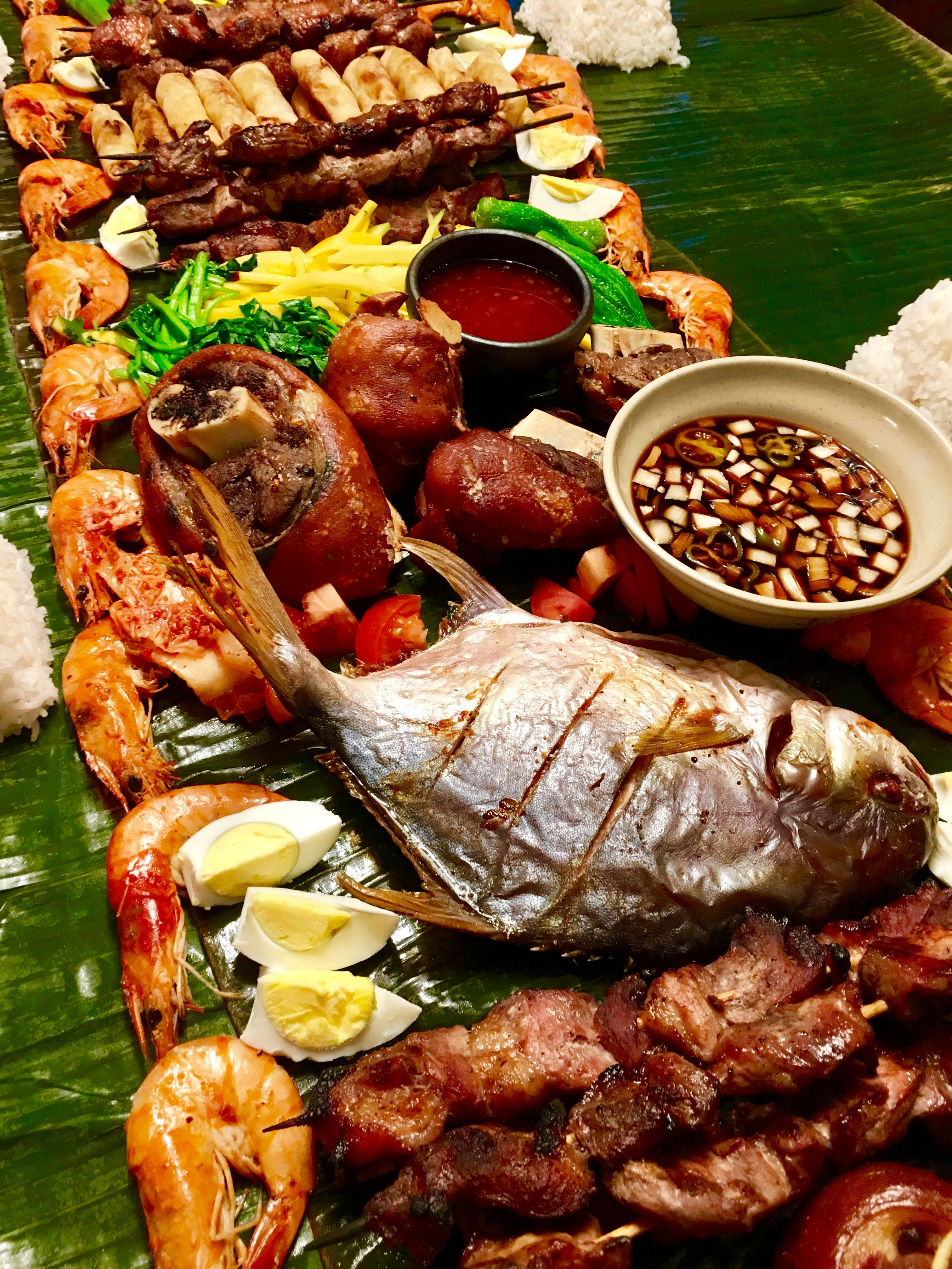Boodle fight items Food, Boodle fight, Potluck recipes