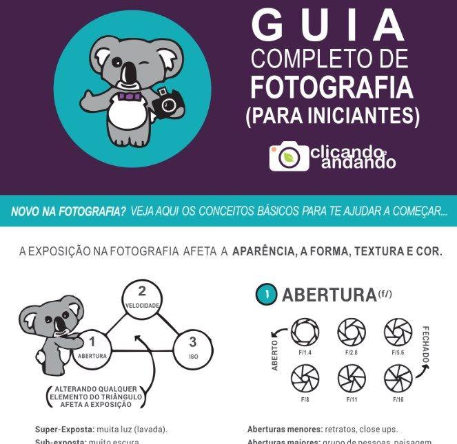 Guia Completo de Fotografia para Iniciantes | photo | Pinterest ...