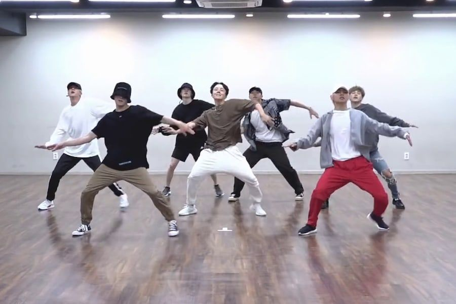 Watch Bts Shows Off Impressive Moves In Idol Dance Practice Video Bts Show Dance Practice Bts