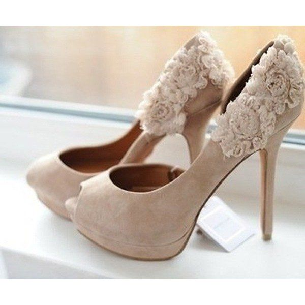 d64dff863a89 Women s Wedding Shoes Fall Wedding Dresses Shoes Winter Fashion Cold Edgy  Wedding Dresses Shoes Women s Nude Peep Toe Platform Floral Stiletto Heels  Bridal ...