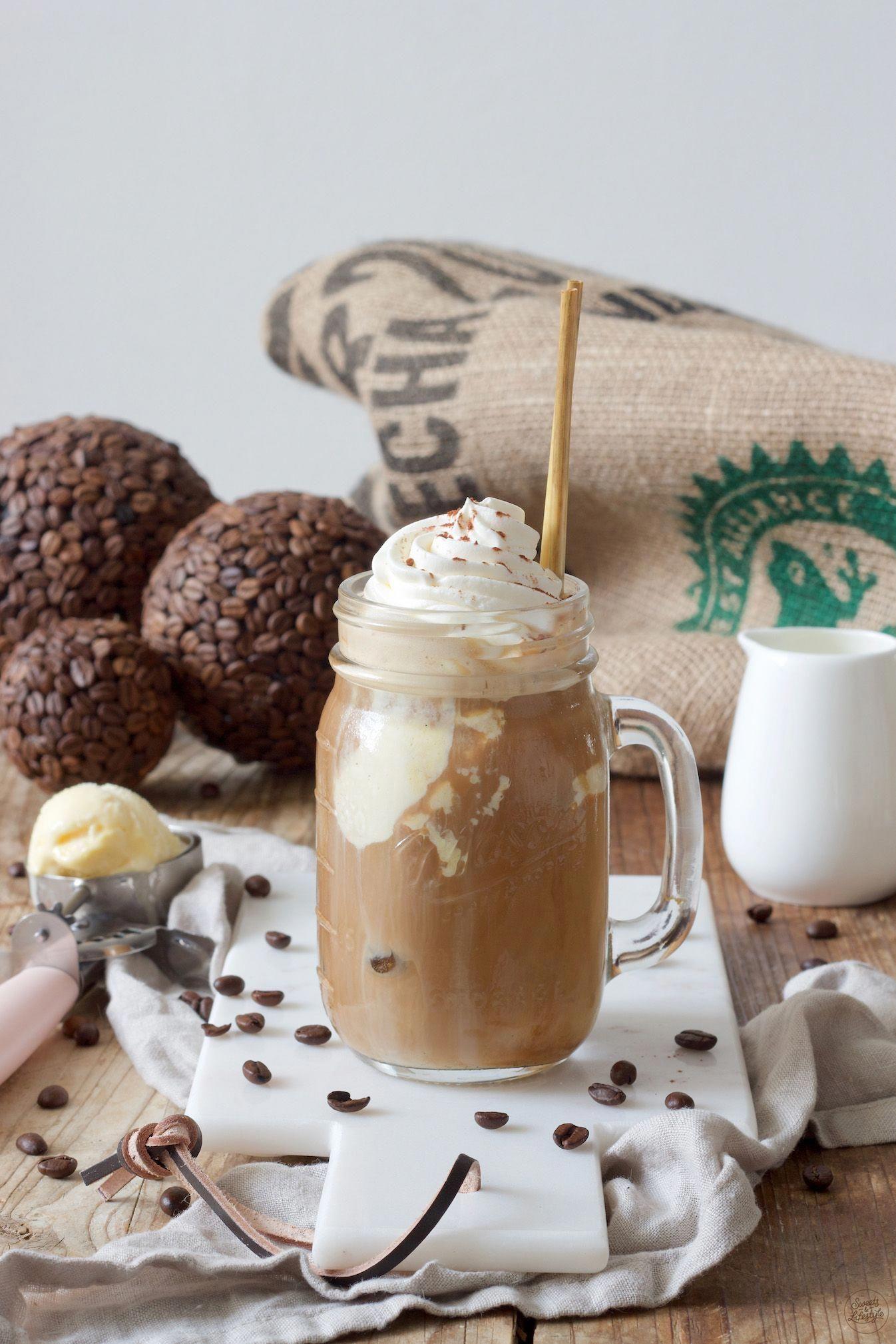 Eiskaffee Rezept - Leckeren Eiskaffee mit Vanilleeis ...
