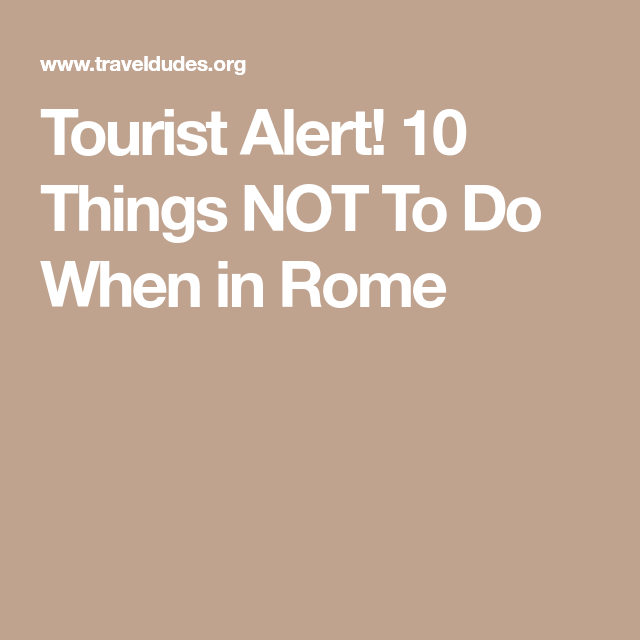 saying when in rome