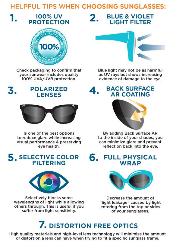 how to choose sun glasses against uv