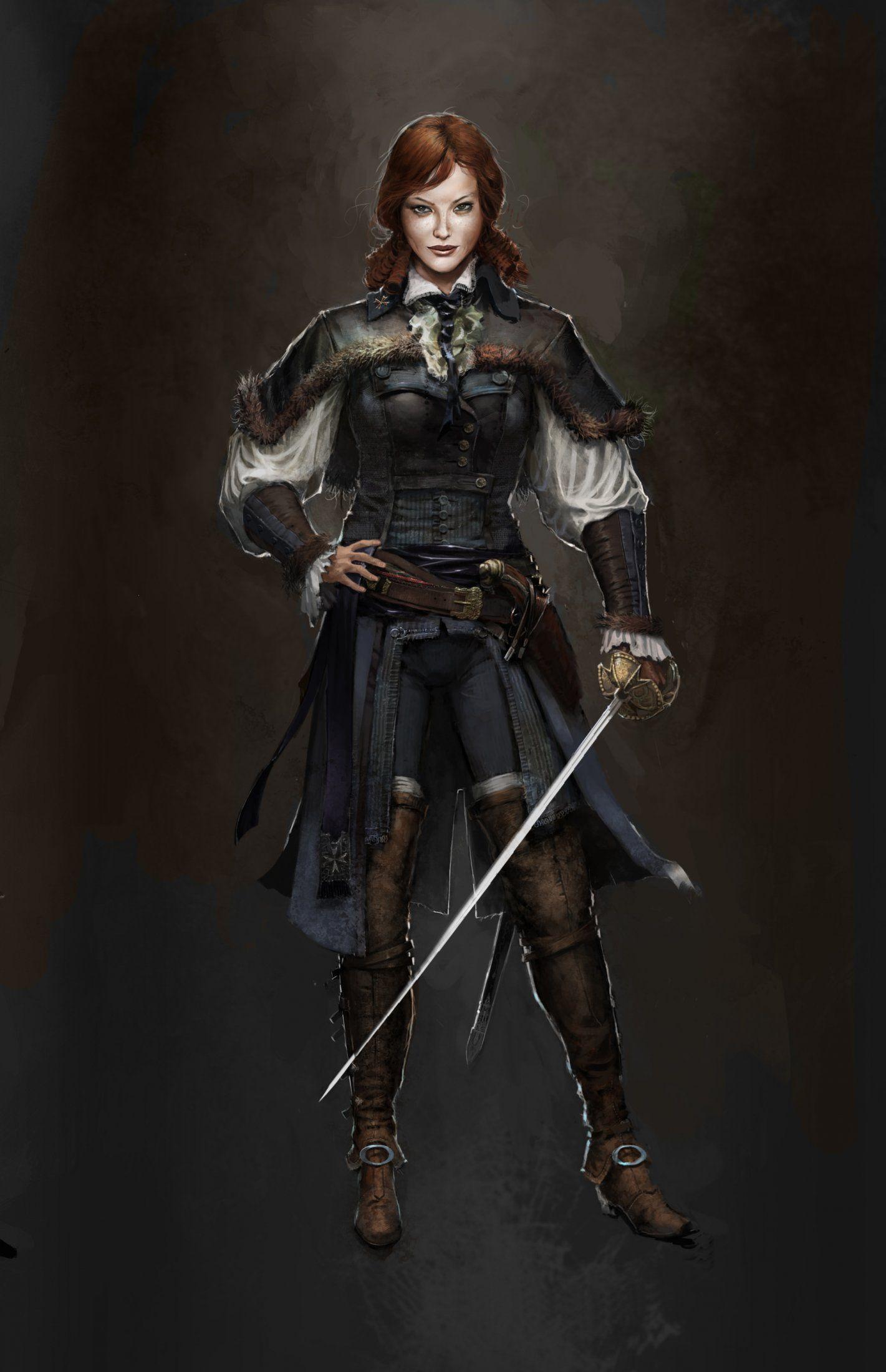 Elise de la Serre Assassins Creed: Unity   Etsy