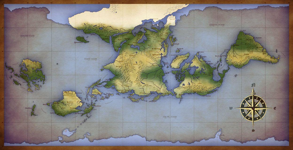 A New World - The (Third) Worldbuilding IH