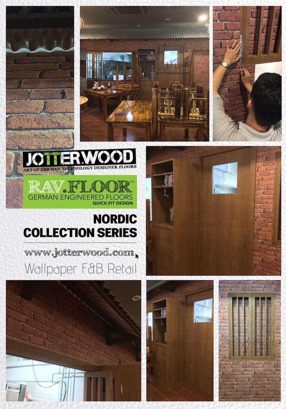 F&B wallpaper. Jotterwood Vinyl Flooring Singapore