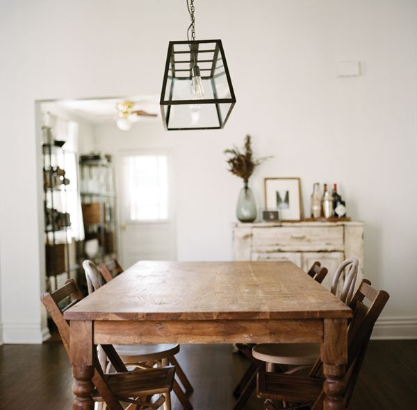Mix Match Kitchen Chairs: Southern Newlywed: At Home With Michael And Whitney Neal