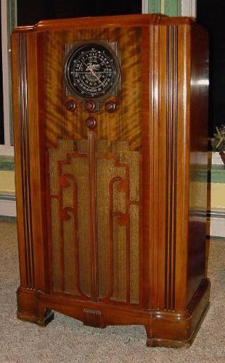 Zenith 6 S 52 Console Radio 1936 Antique Radio Antique Radio Cabinet Retro Radios