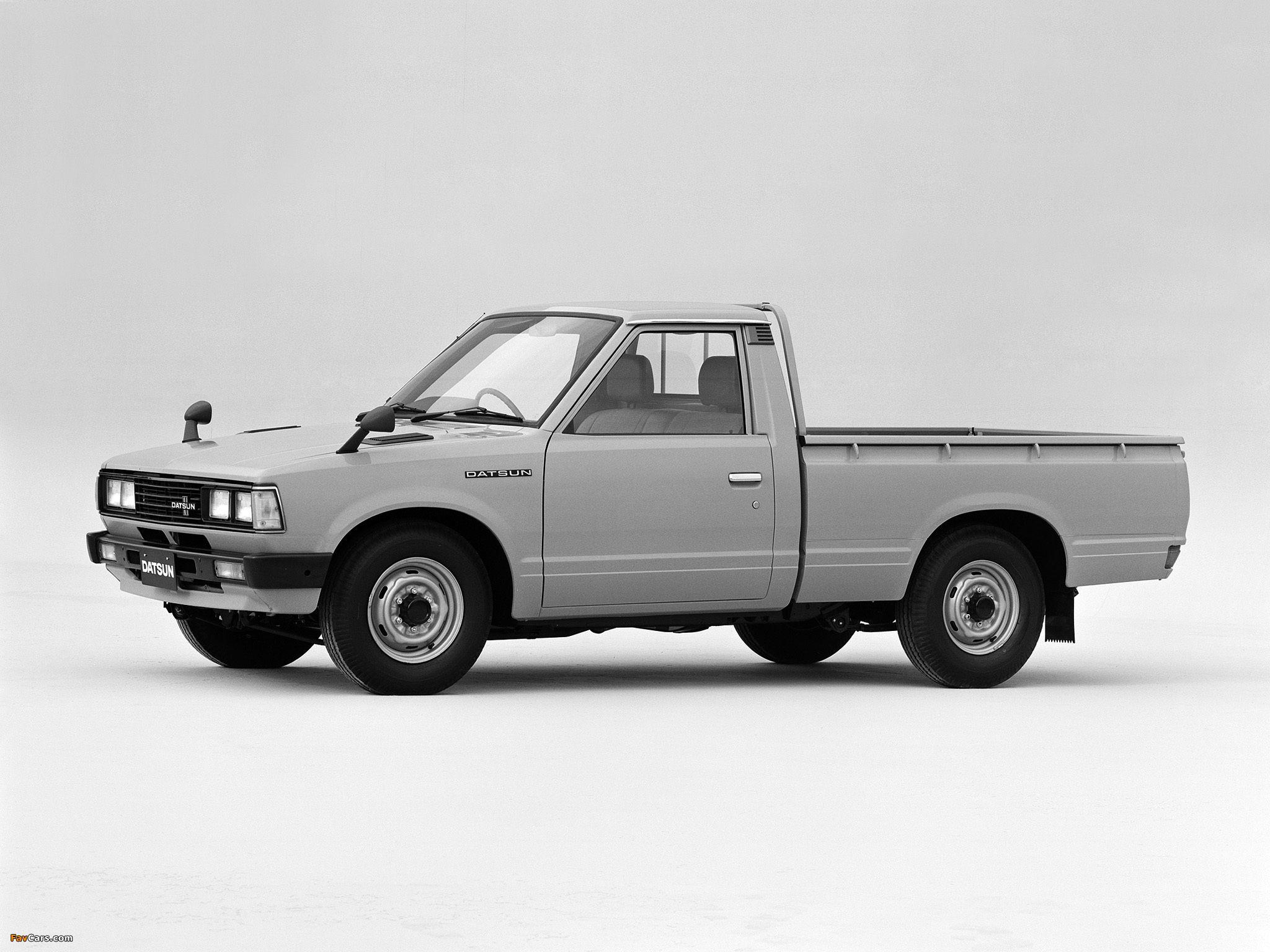 Datsun Pickup Regular Cab JP Spec 720 1979 85 Images 2048 X 1536