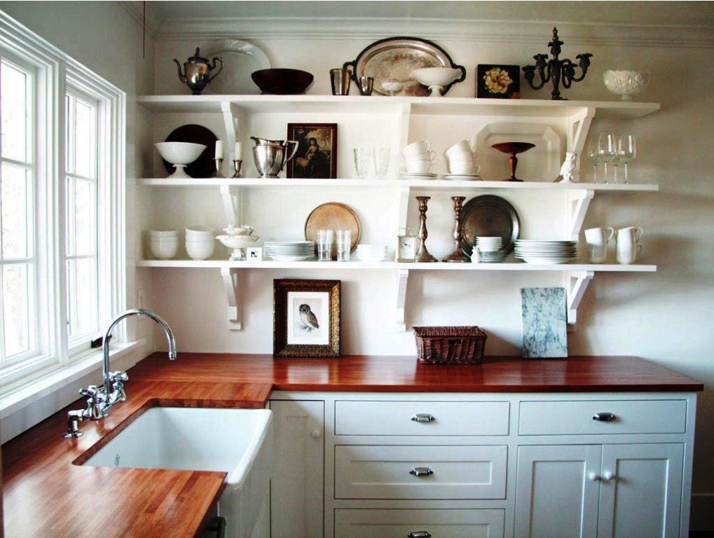 Small Kitchen Shelf Ideas Part - 15: Chic Kitchen Shelves Ideas Kitchen Shelf Ideas Kitchen Shelves .