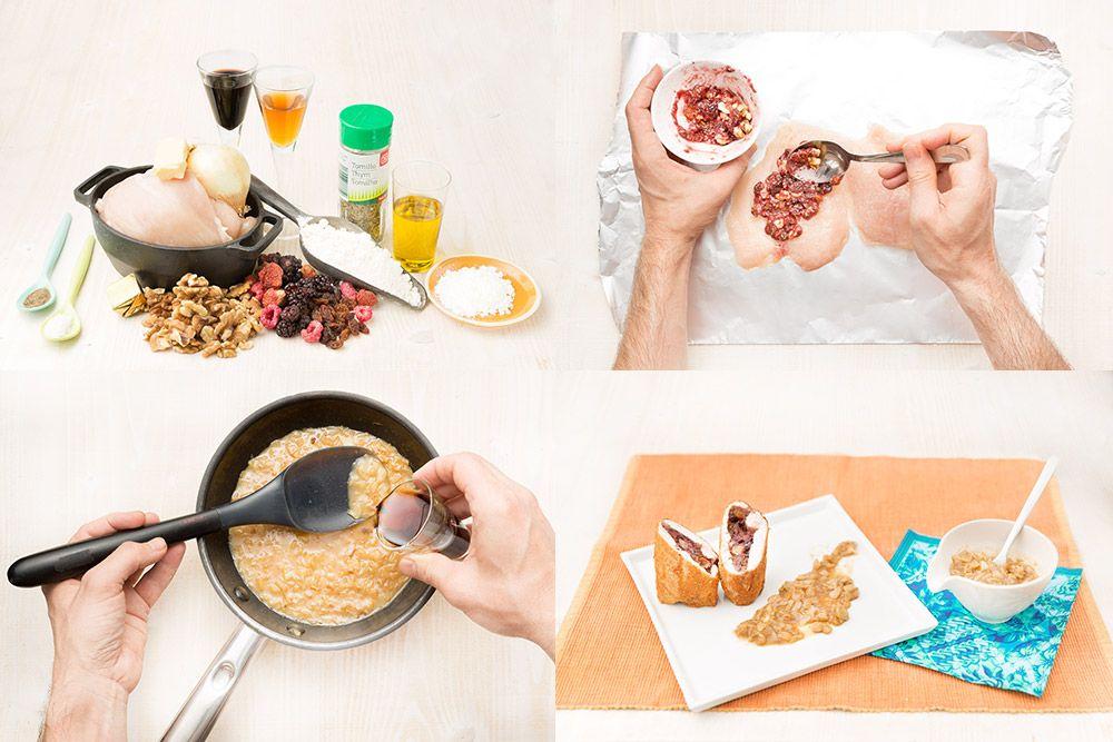 #Receta de rulo de #pollo rebozado: http://bit.ly/1vwBeaJ   Demos la vuelta al día