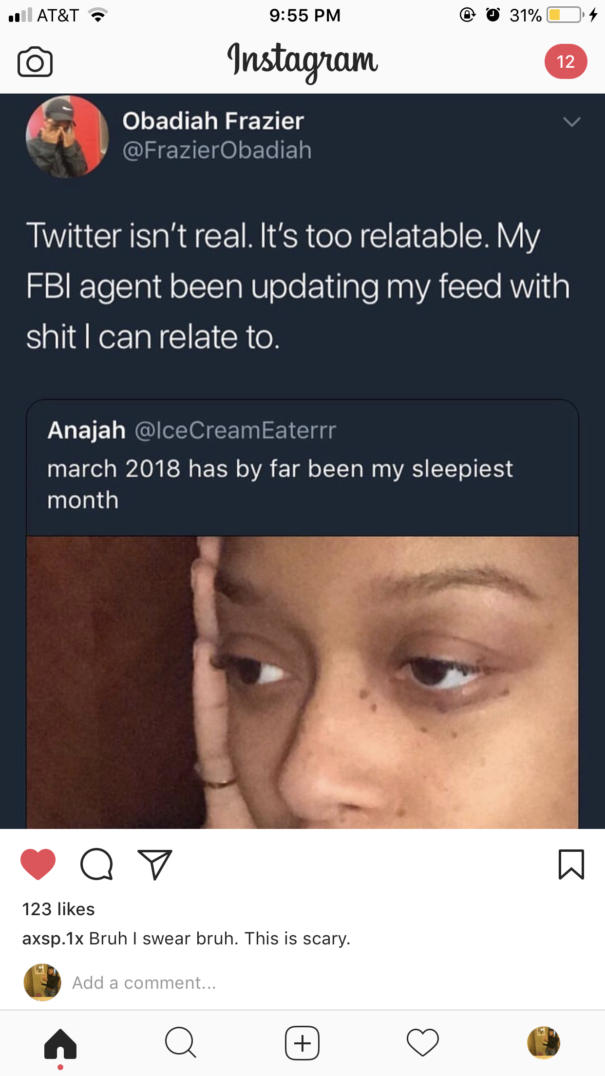 My fbi agent Like what you see? Follow me for more: @yofav N