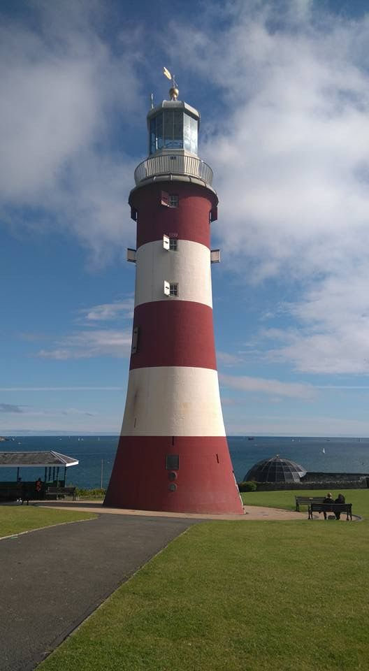 Smeaton's Tower Lighthouse, Plymouth Hoe July