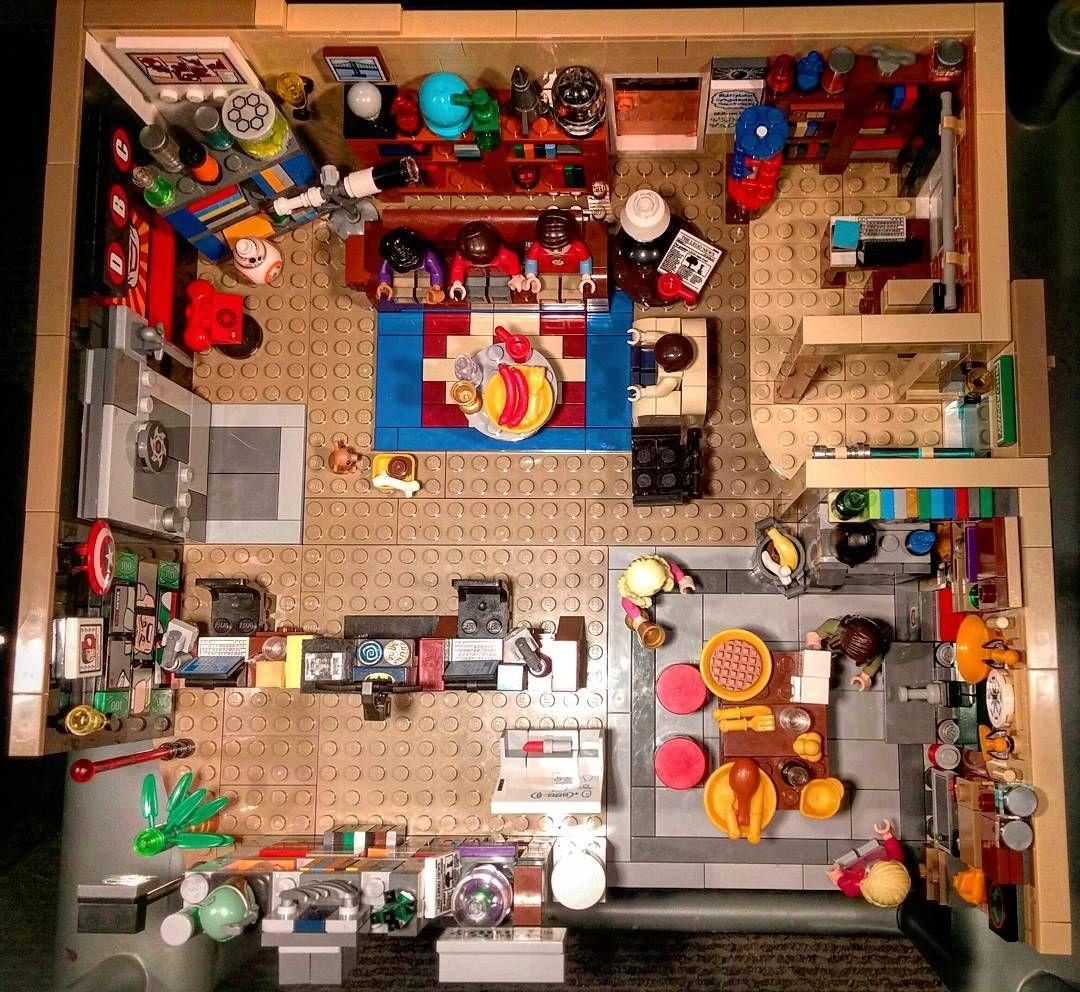 1st day in la goals Lego big bang theory with aiden   lautes ...