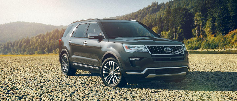 Undefined 2019 Ford Explorer Platinum In Magnetic Ford