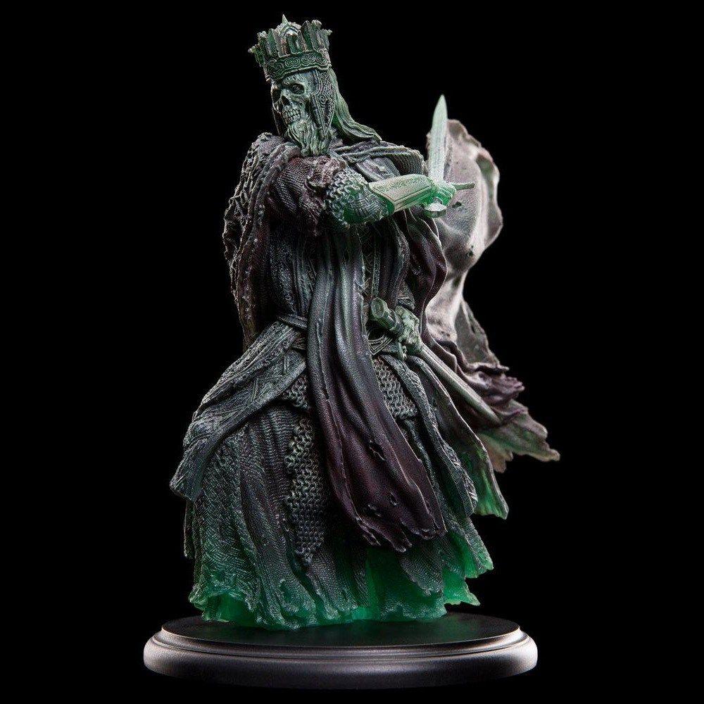 Mini escultura del Rey de los Muertos, yelmo de Erebor y miniatura ...